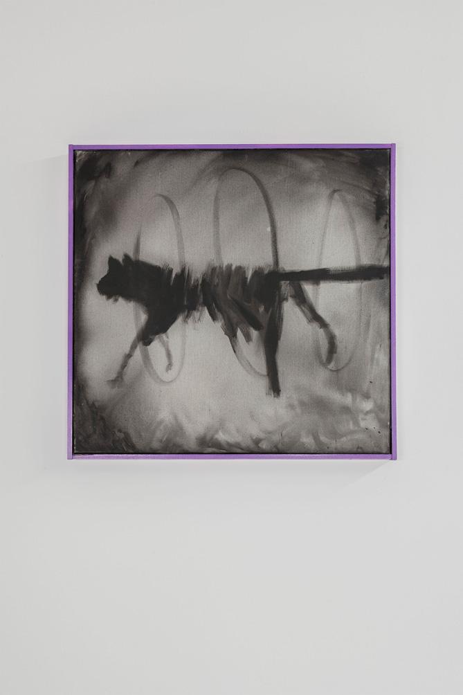 Stefan Inauen O.T. 2008 Acryl auf Leinwand B 62cm, H62cm gerahmt