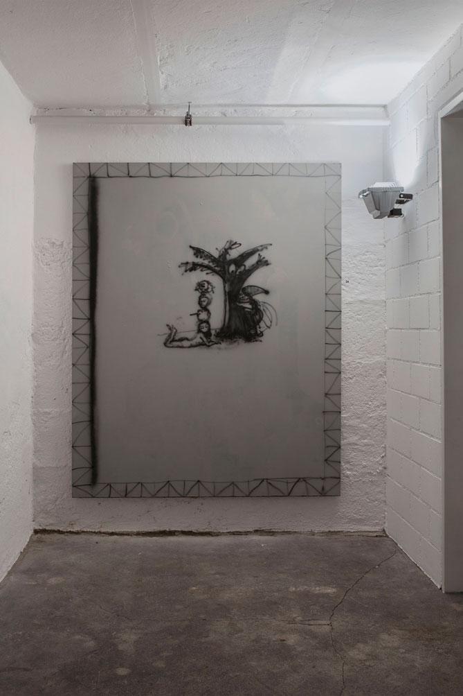 Stefan Inauen o.T. 2008 Acryl auf Leinwand B 135cm, H 170cm